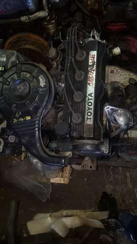 USED ENGINES  TOYOTA COROLLA 1.6L 16V FWD 4A CARB 16V FOR SALE