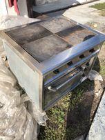 Плита электрическая промышленная с духовкой КИЙ-В