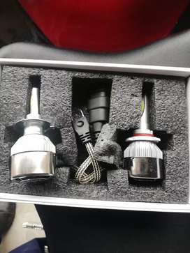 C6 LED headlight kit to fit motorcycles