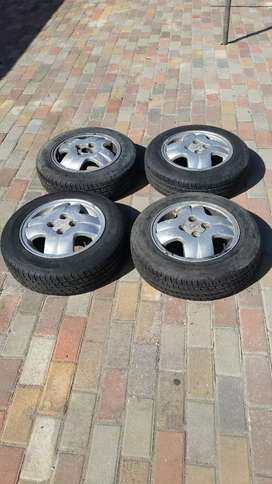 Opel Rims and new tyre's