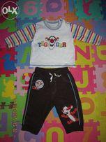 Гарненький костюм на малюка 3-6 міс штани реглан