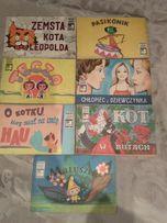 książeczki seria bajka filmowa dla dzieci z PRL-U