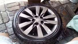 Kia cerato Koup Rims with tyres Full set