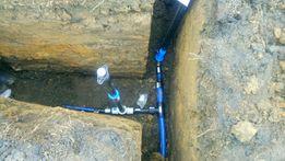 Przyłącza wody gazu kanalizacji kozy bielsko okolice