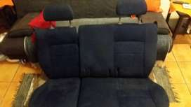Uno Pacer and Fire rear seats