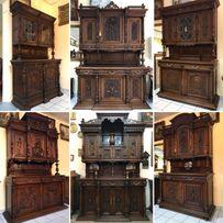 Старинная антикварная дубовая Мебель из Европы