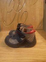 Кожаные ботинки.21 размер
