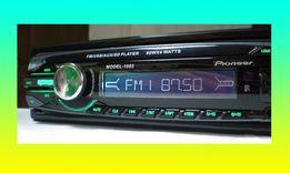 Автомагнитола Pioneer 1085 (USB флешки +SD карты памяти +FM, 4x50W)