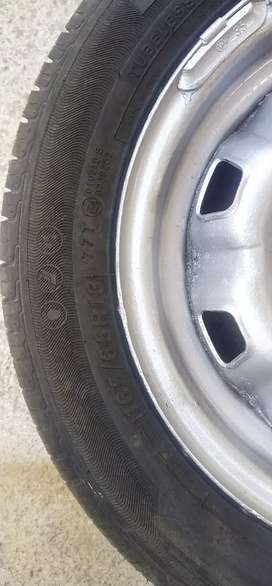 13 inch rim and brand new tyre