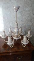 Люстра керамическая (6 лампочек)