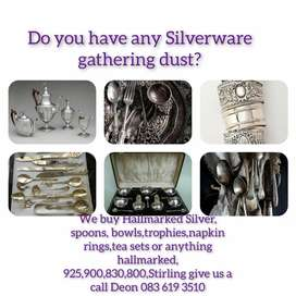 We Buy Anything Hallmarked or Stirling Silver