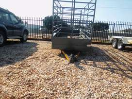 Cattle or sheep trailer