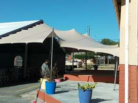 Stretch tents for hiring and selling