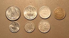 stare monety z czasów PRL
