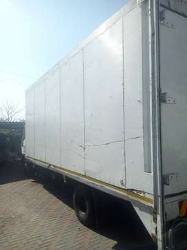 Different sizes of trucks available for home and office removals.