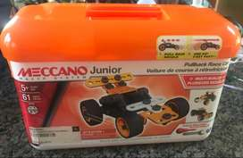 MECCANO Junior Tool Box- pullback racer