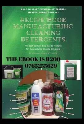 Want to start cleaning detergents manufacturing company