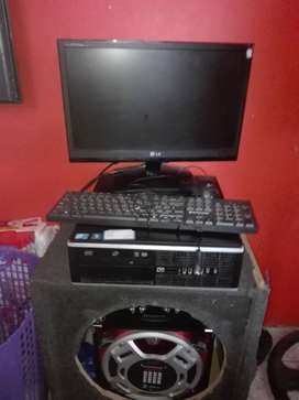 Monitor and tower