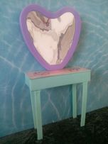 Туалетный столик, стол+ стул для кукол