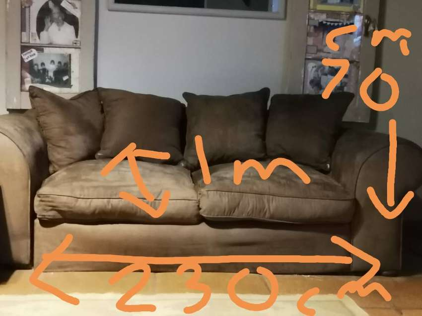 Each 2 couches for sale