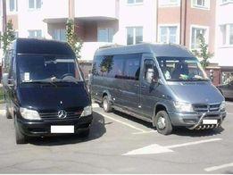 Пассажирские перевозки , заказ микроавтобусов 8-20 мест.