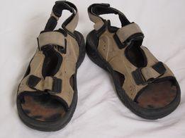 Сандалии кожаные мужские из Германии раз.40, длина стельки 24.5 см.