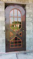 Изготовим металлические двери ворота решетки навесы