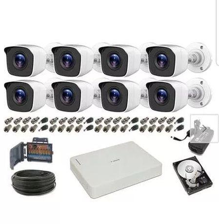 Monitoring CCTV 8 kamer Full HD 2Mpx 1080P Podglad ONLINE cctv Wrocław - image 1