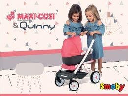 БЕЗКОШТ.ДОСТАВКА Коляска для куклы Maxi-Cosi & Quinny Smoby 253198