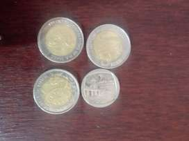 Selling 3 5Rands and one 2rand