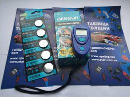Толщиномер Allosun ЕМ2271 +книга толщин+батарейка +гарантия