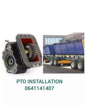 Hydraulic installation on all makes of trucks for best price.