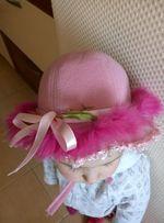 Шляпка детская, шапка