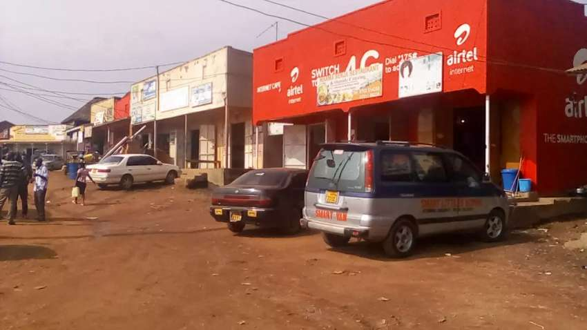 Shop with a bedroom located within Kasangati town. 0