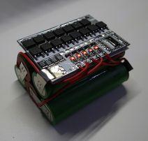BMS 5S контроллер питания, плата защиты 21V 100A, с балансиром