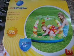 Детский надувной бассейн.