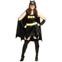Rubie's Batgirl крутое женское костюм платье супергерой, качество 46