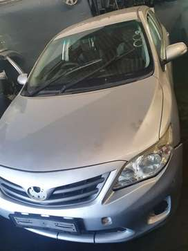 Toyota corrola professional 2014 breaking up for spares