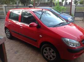 Hyundai Getz 1.4 from 2011 with only 113000 km