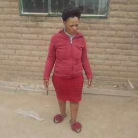 Lesotho nanny/maid/cleaner needs stay in work