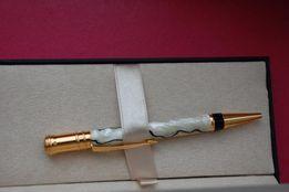 Ручка ParkerDuofoldPearlandBlackBallpointPen,GoldTrim,Vintag