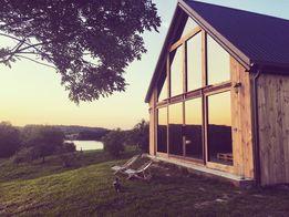 MAZURY, Nowoczesny dom nad jeziorem na mazurach, kajaki SAUNA, weekend