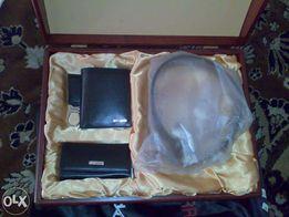 Набор подарочный Neri Karra портмоне ключница брелок ремень Navyboot