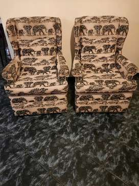 Wingback loungercand rocking chairs