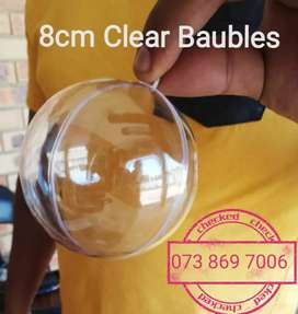 Transparent Baubles R35