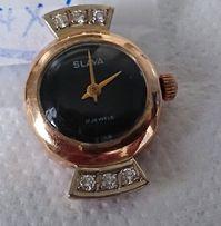 Золотые часы с бриллиантами слава