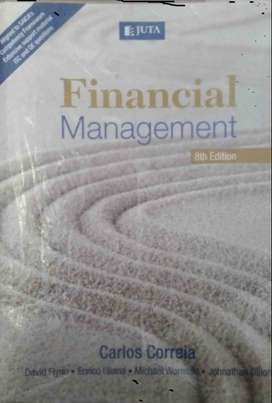Financial Management - Carlos Correia Textbook 8th edition