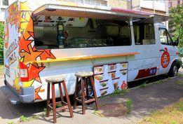 Кухня на колесах food truck фаст фуд