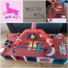 Willa Bok activity set and custom made Baby gifts