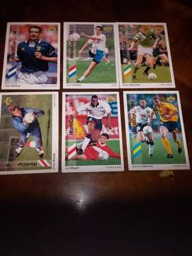 Soccer world cup post cards